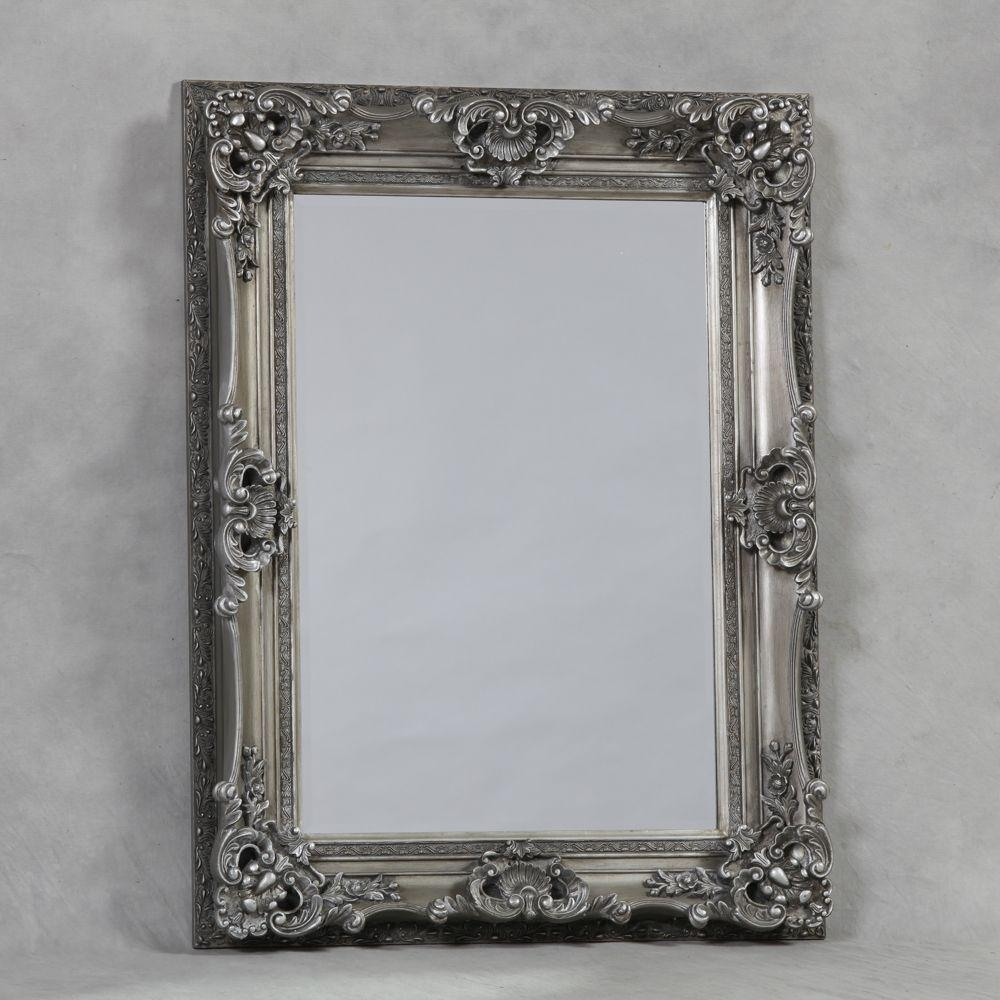 Featured Image of Antique Silver Mirror