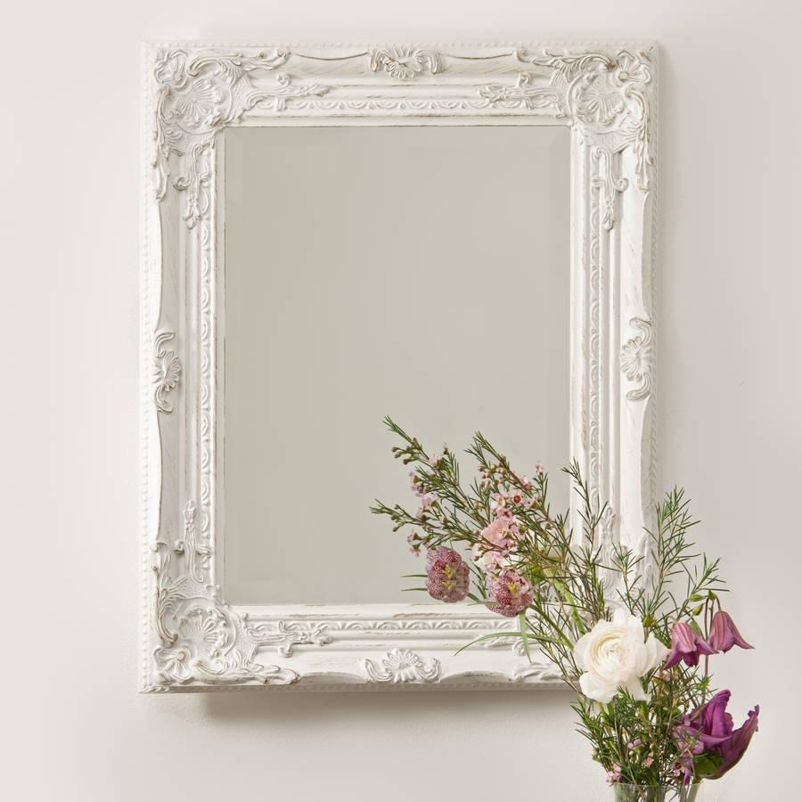 Antique Vintage Wall Mirrors : Doherty House – A Beautiful Of Within White Antique Mirrors (View 4 of 20)