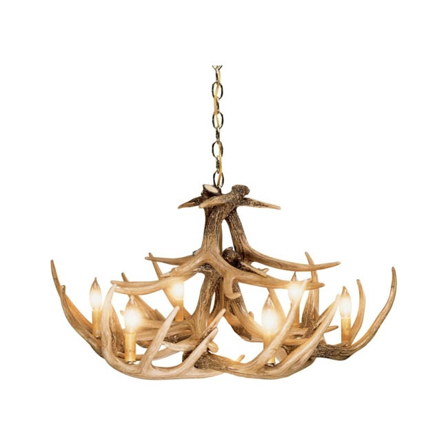 Antlers Etc Rustic Cabin Decor Hunting Decor In Turquoise Antler Chandeliers (Image 11 of 25)