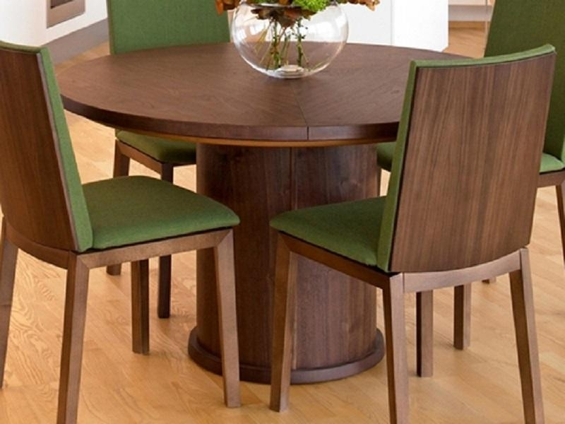 Appealing Ideas Extendable Round Dining Table — Home Ideas Collection Pertaining To Circular Extending Dining Tables And Chairs (Image 1 of 20)