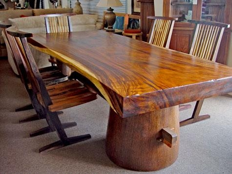 Appealing Tree Dining Room Table Photos – 3D House Designs – Veerle In Tree Dining Tables (Image 2 of 20)
