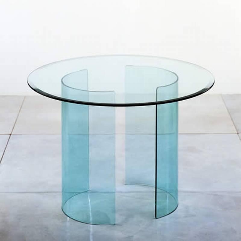 Arch Dining | Dining Table | Bent Glass | Curved Glass | Dining Intended For Curved Glass Dining Tables (Image 4 of 20)