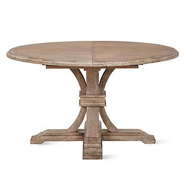 Archer Round Extendable Dining Table | Z Gallerie Inside Extending Outdoor Dining Tables (Image 1 of 20)