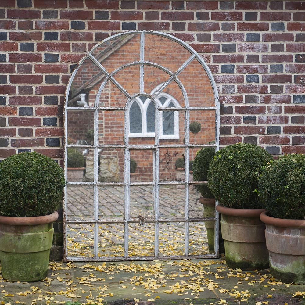 Architectural Window Mirrors Inside Large Garden Mirrors (View 10 of 20)