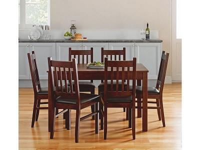 Argos Product Support For Cucina Walnut Dining Table And 6 Chairs For Walnut Dining Table And 6 Chairs (Image 3 of 20)