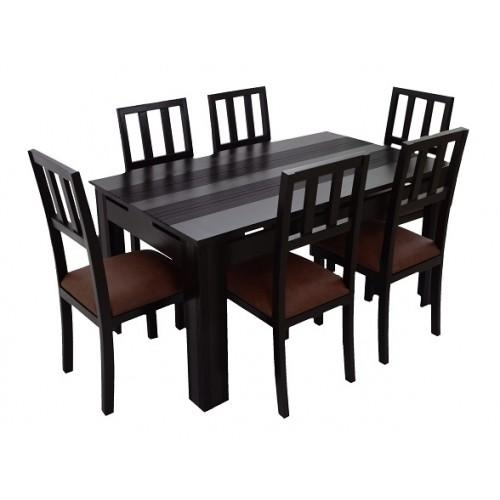 Ariaria 6 Seater Dining Table (Table Only) – Skarabrand Pertaining To 6 Seater Dining Tables (View 18 of 20)