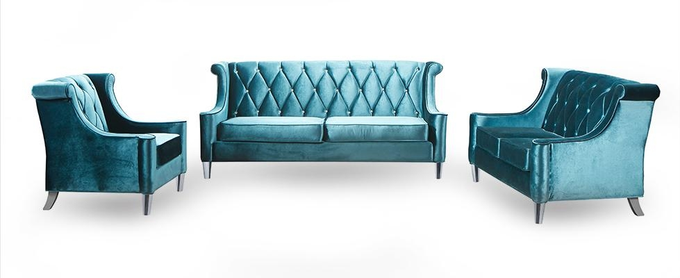 Armen Living Barrister Sofa Barrister Sofa Green Velvetarmen Throughout Barrister Velvet Sofas (Image 5 of 20)