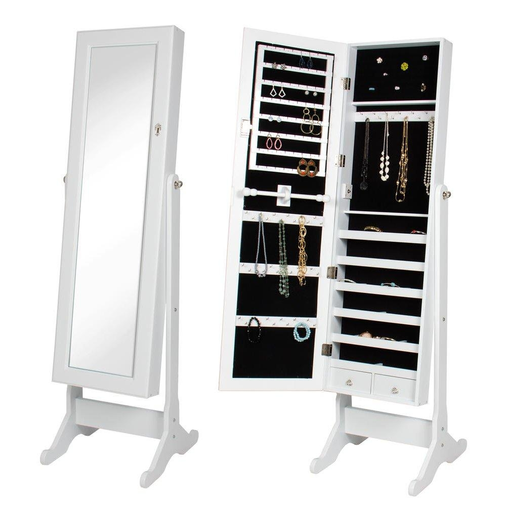 Armoire: Charming Cheval Mirror Jewelry Armoire Ideas Cheval For Modern Cheval Mirror (Image 3 of 20)