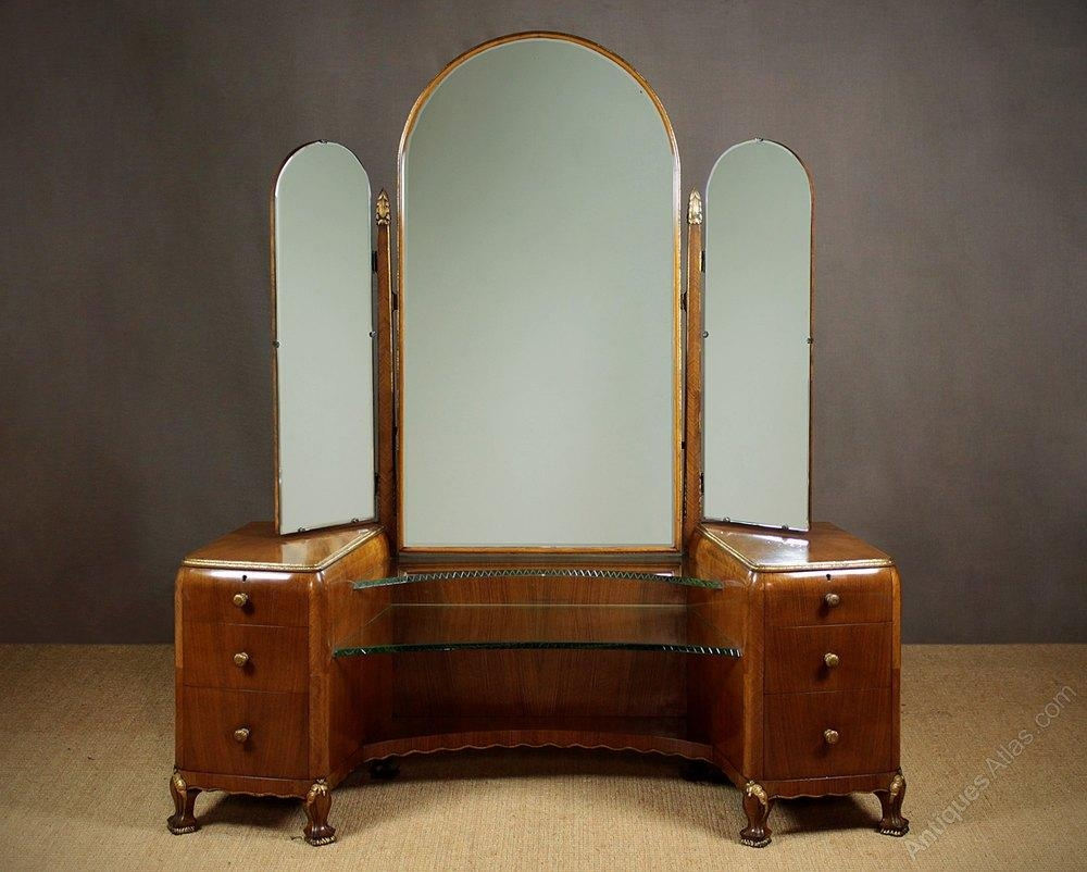 Art Deco Dressing Table C. (Image 5 of 20)