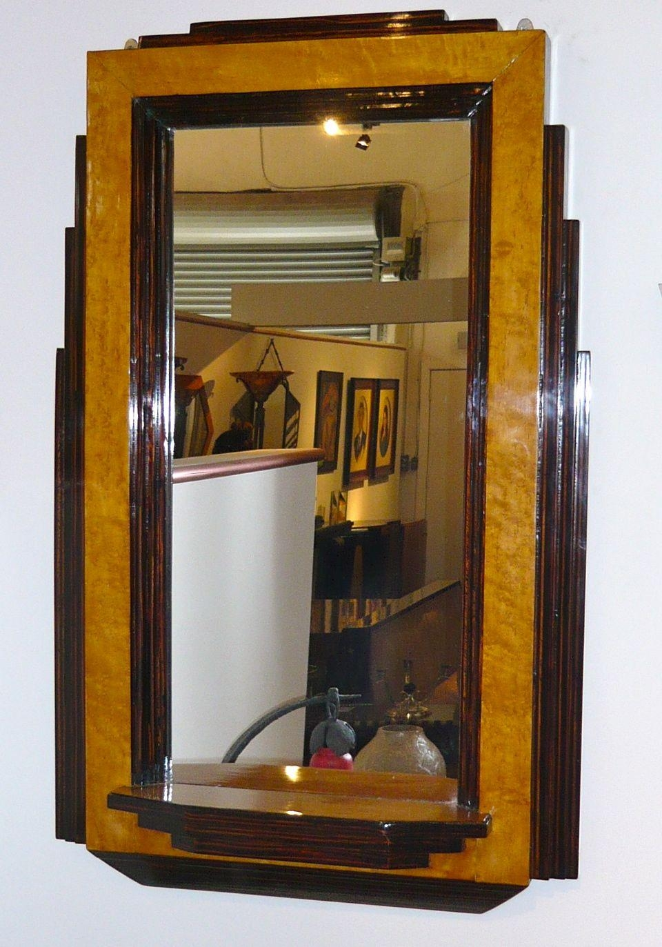 Art Deco Mirrors For Sale | Art Deco Collection Regarding Art Deco Mirrors (Image 6 of 20)