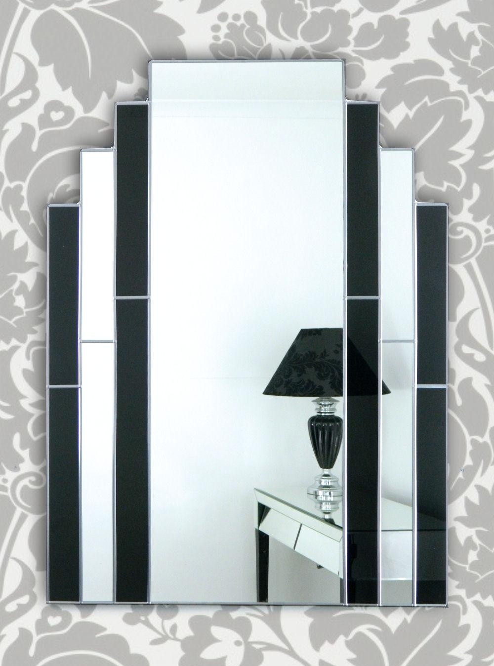 Art Deco Wall Mirror 117 Outstanding For Elegant Art Deco Wall Regarding Art Deco Wall Mirror (Image 6 of 20)