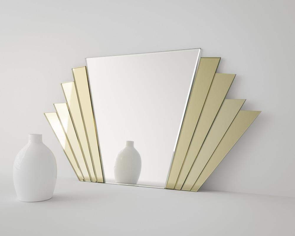 Art Deco Wall Mirror Neat Large Wall Art For Art Wall – Home Intended For Large Art Deco Wall Mirror (Image 9 of 20)