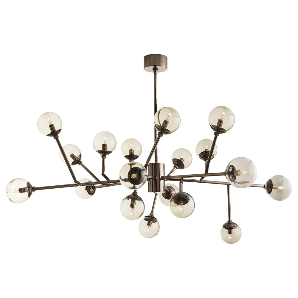 Arteriors Home Dallas 18 Light Sputnik Chandelier Reviews Wayfair Throughout Mini Sputnik Chandeliers (Image 1 of 25)