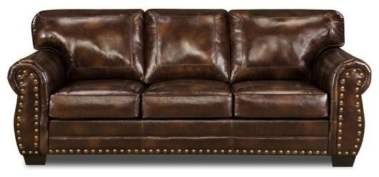 Ashley Franden Durablend Gorgeous Bonded Leather Sofa – Home Throughout Bonded Leather Sofas (View 6 of 20)