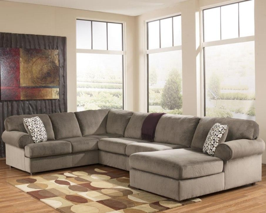 Ashley Furniture Sectional Sofas Black : New Lighting – Ashley Within Ashley Furniture Brown Corduroy Sectional Sofas (Image 9 of 20)