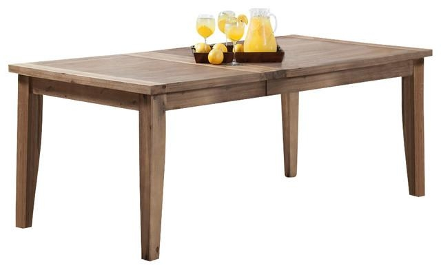 Aspen Dining Table With Butterfly Leaf – Rustic – Dining Tables Pertaining To Aspen Dining Tables (Image 8 of 20)