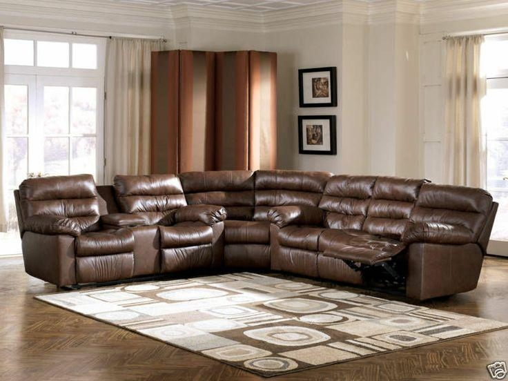 Astonishing Genuine Leather Sectional Sofas 89 With Additional Inside Bradley Sectional Sofas (Image 5 of 20)