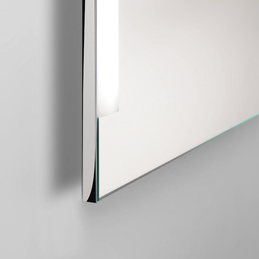 Astro Lighting 0782 Imola 900 Illuminated Wall Mirror In Chrome Wall Mirror (Image 1 of 20)