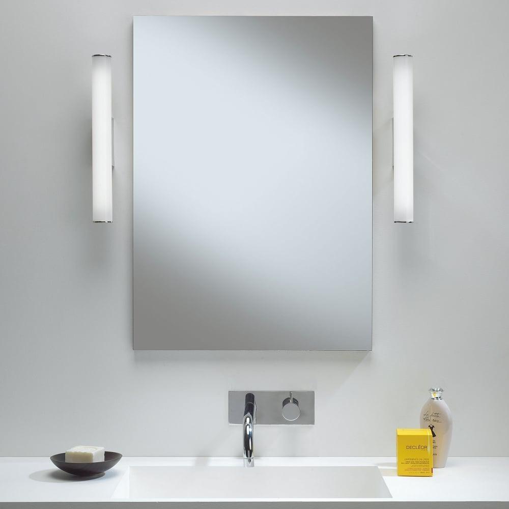 Astro Lighting 7101 Dio Led Ip44 Bathroom Mirror Wall Light With Regard To Mirror Wall Light (Image 2 of 20)