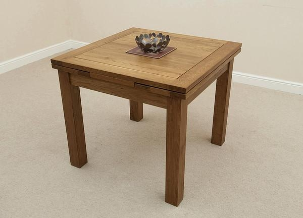 Attractive Extendable Wooden Dining Table Dining Room Great Intended For Extending Solid Oak Dining Tables (Image 1 of 20)