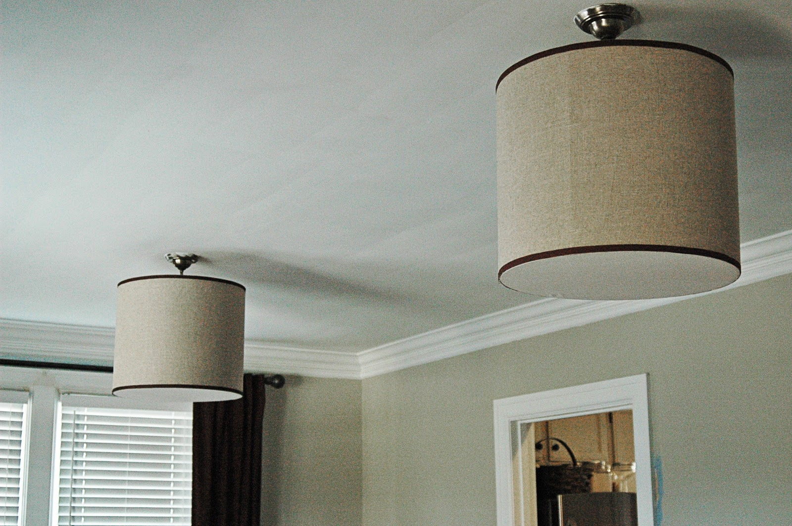 Awesome Barrel Lamp Shade Chandeliers Design Extra Large Drum For Drum Lamp Shades For Chandeliers (View 25 of 25)