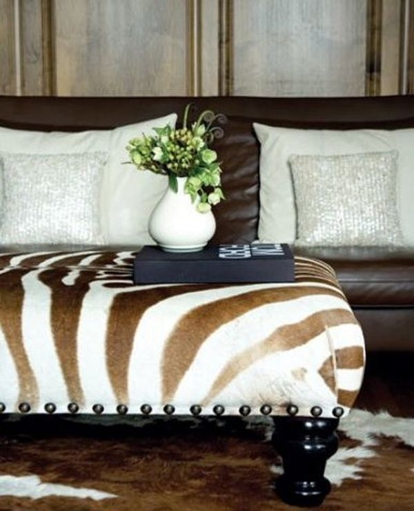 Awesome Best Animal Print Ottoman Coffee Tables Pertaining To 230 Best Animal Print Furniture Images On Pinterest Animal (Image 2 of 50)