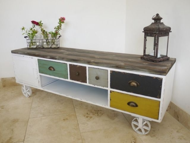 Awesome Best Bench TV Stands Within Best 20 Tv Stand On Wheels Ideas On Pinterest Tv Storage Tv (Image 3 of 50)