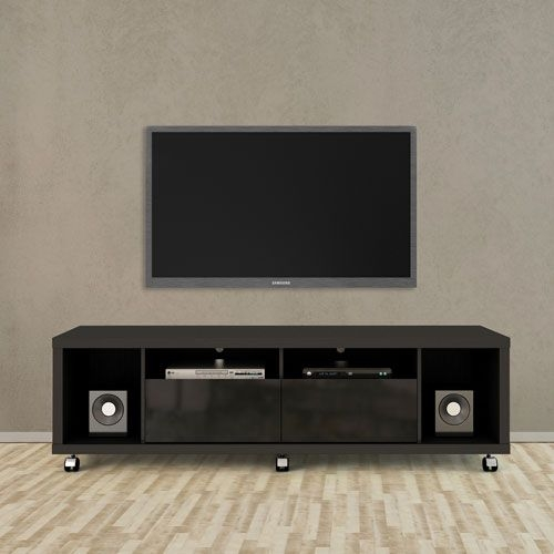 Awesome Best Black TV Stands Intended For Best 25 Black Tv Stand Ideas On Pinterest Living Room Sets Ikea (Image 5 of 50)