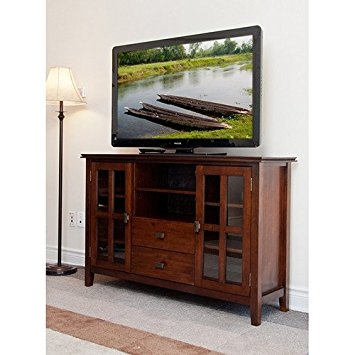Awesome Best Brown TV Stands Intended For Amazon Stratford Auburn Brown Tv Stand This Tv Stand For (View 2 of 45)