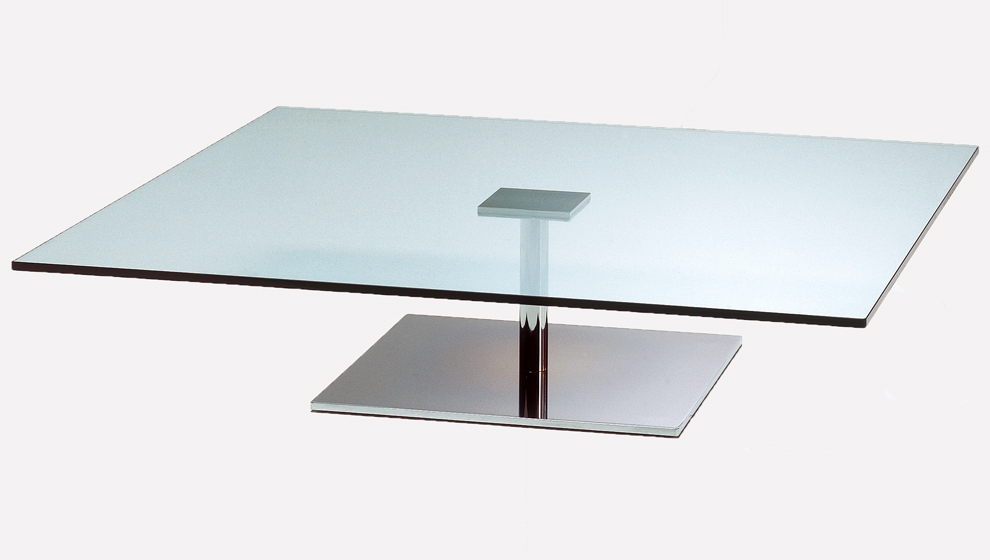 Awesome Best Chrome And Glass Coffee Tables With Regard To Unique Modern Glass Coffee Tables Table On Metal Base R Intended (Image 1 of 50)