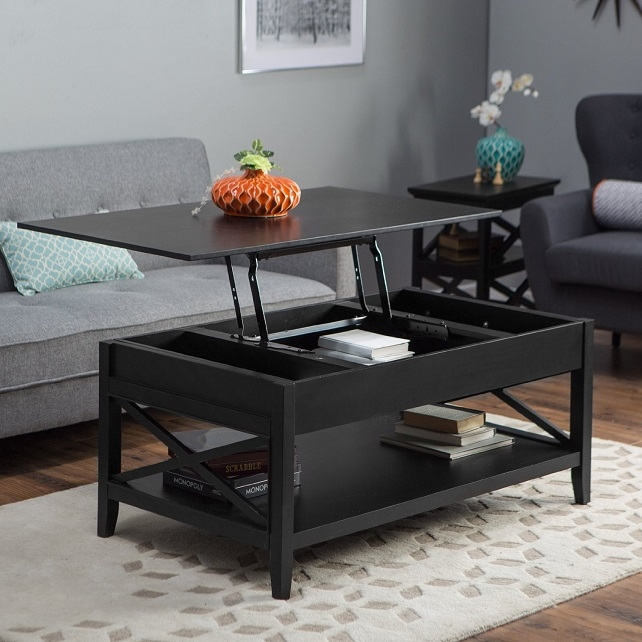 Awesome Best Coffee Tables With Lift Up Top With Coffee Table Black Lift Top Coffee Table Uk Mechanism Cheap Lift (Image 4 of 40)