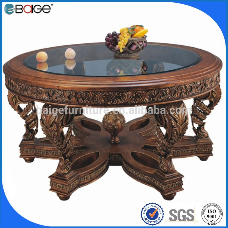 Awesome Best Elephant Coffee Tables Intended For C 3350 Round Coffee Table With Stools Glass Elephant Coffee Table (Image 7 of 50)