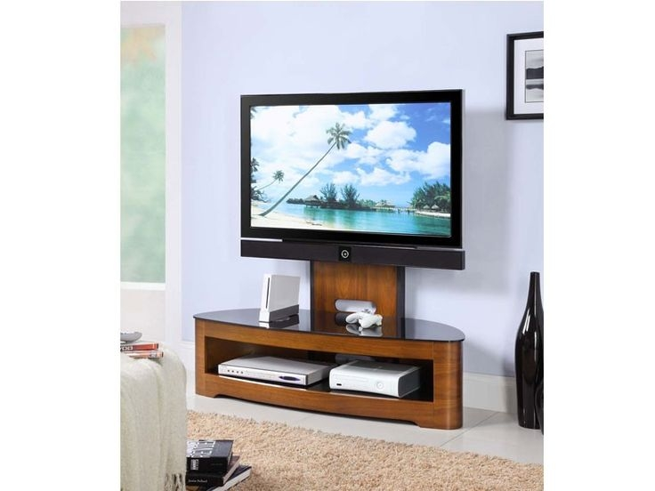 Awesome Best Glass Corner TV Stands For Flat Screen TVs Regarding 168 Best Wooden Tv Stands Images On Pinterest Tv Cabinets (Image 3 of 50)