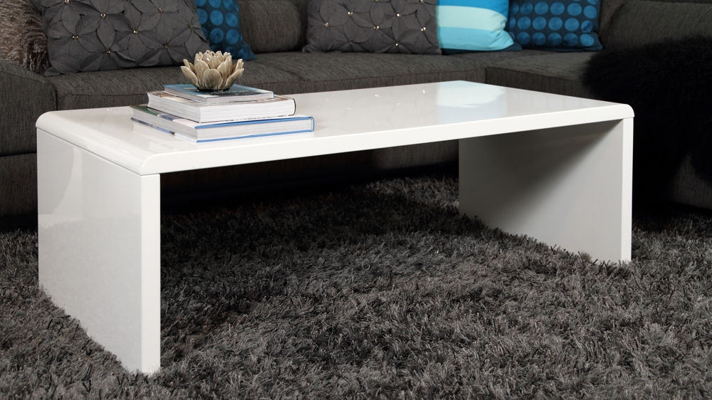 Awesome Best Gloss Coffee Tables Regarding White Gloss Coffee Table (View 37 of 50)