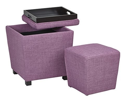 Awesome Best Purple Ottoman Coffee Tables Intended For Tufted Coffee Tables Amazon (Image 1 of 40)