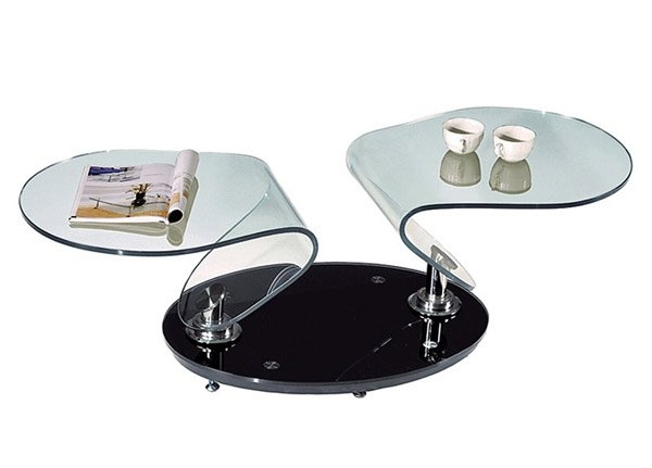 Awesome Best Round Swivel Coffee Tables Within 20 Inimitable Styles Of Swiveling Glass Coffee Table Home Design (View 49 of 50)