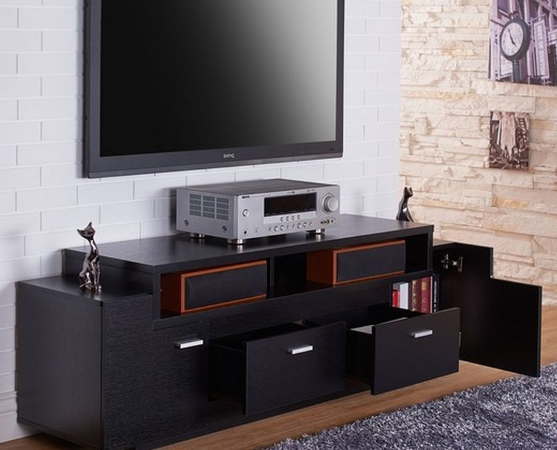 Awesome Best Sideboard TV Stands Regarding Tv Stands 10 Awesome Solid Wood Tv Stereo Stands Cabinets Design (View 38 of 50)