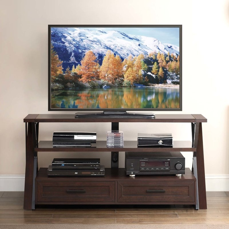Awesome Best TV Stands Rounded Corners For Extra Tall Tv Stands Wayfair (Image 5 of 50)