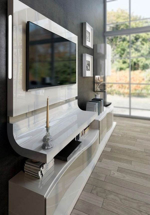 Awesome Best Unusual TV Stands Throughout Best 10 Unique Tv Stands Ideas On Pinterest Studio Apartment (Image 7 of 50)