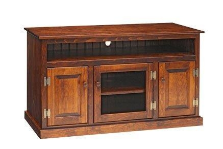 Awesome Best Wooden TV Stands With Doors Pertaining To Pine Wood Tv Stand (Image 5 of 50)