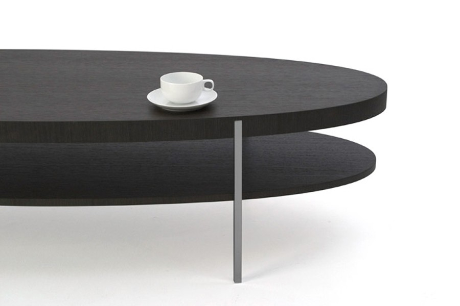 Awesome Brand New Black Oval Coffee Tables Regarding Modern Oval Coffee Table Idi Design (View 16 of 40)