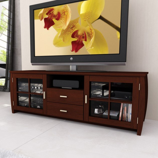 Awesome Brand New Fancy TV Cabinets With Regard To Cool Tv Stand Designs For Your Home (Image 8 of 50)