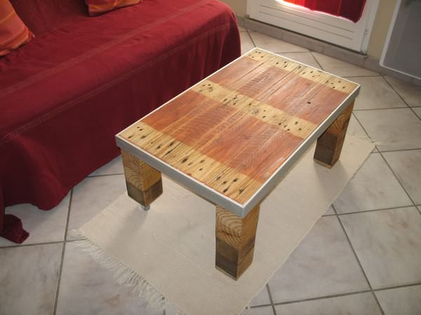 Awesome Brand New Industrial Style Coffee Tables In Table Basse Style Industriel Industrial Style Coffee Table (Image 5 of 50)