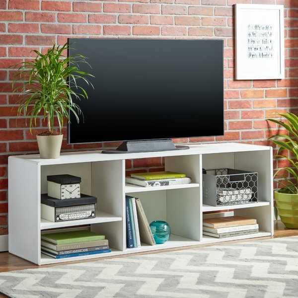 Awesome Brand New Off White Corner TV Stands With Regard To Tv Stands Flat Screen Tv Stands Youll Love (Image 11 of 50)