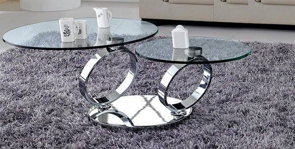 Awesome Brand New Revolving Glass Coffee Tables For 20 Inimitable Styles Of Swiveling Glass Coffee Table Home Design (Image 3 of 40)