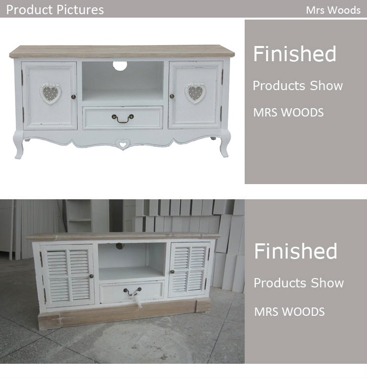 Awesome Brand New Shabby Chic TV Cabinets For White Wood Shab Chic Tv Stand Cabinet Home Design Ideas (View 17 of 50)