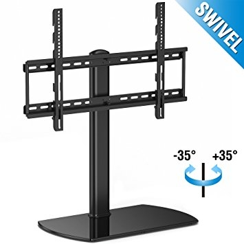 Awesome Brand New Swivel TV Stands With Mount Regarding Amazon Fenge Swivel Universal Tv Standbase Tabletop Tv Stand (Image 8 of 50)