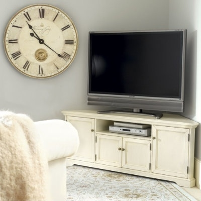 Awesome Brand New White Corner TV Cabinets Throughout Best 25 Corner Tv Cabinets Ideas Only On Pinterest Corner Tv (Image 7 of 50)