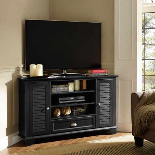 Awesome Common Black Corner TV Cabinets With Regard To Best 25 50 Tv Stand Ideas On Pinterest Diy Tv Stand European (View 39 of 50)