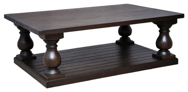 Awesome Common Dark Brown Coffee Tables Regarding Brown Coffee Table (Image 8 of 50)